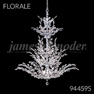 94459S : Large Entry Crystal Chandelier