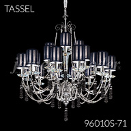 96010S : Large Entry Crystal Chandelier