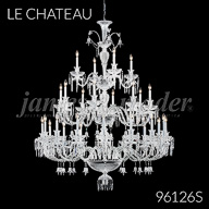 96126S : Large Entry Crystal Chandelier
